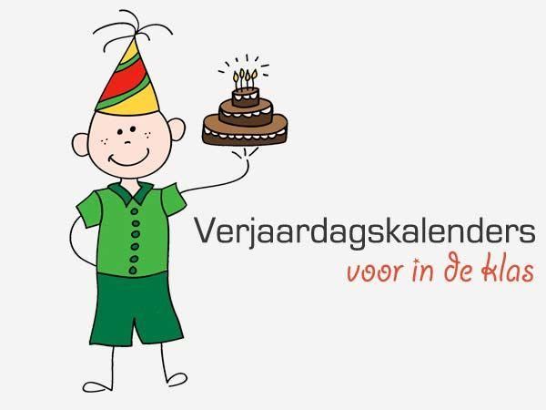 Verjaardagskalenders voor in de klas - Lespakket - thema's, lesideeën en informatie - onderwijs aan kleuters
