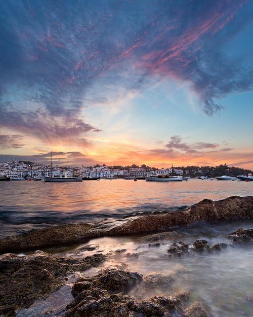 Cadaques Sunrise, Girona | Spain (by Thorsten Scheuermann)