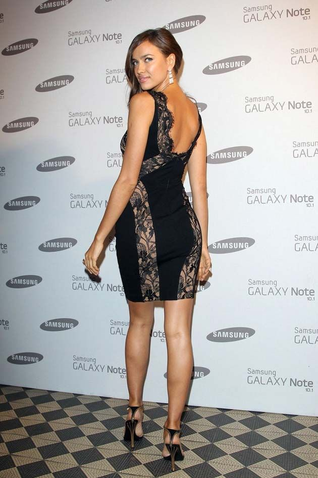 Irina Shayk Samsung Galaxy Note Launch Party-London 2012