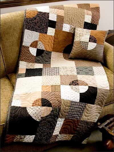 Make Mine Mocha by ePatternsCentral  [quick-ish charity quilts?]