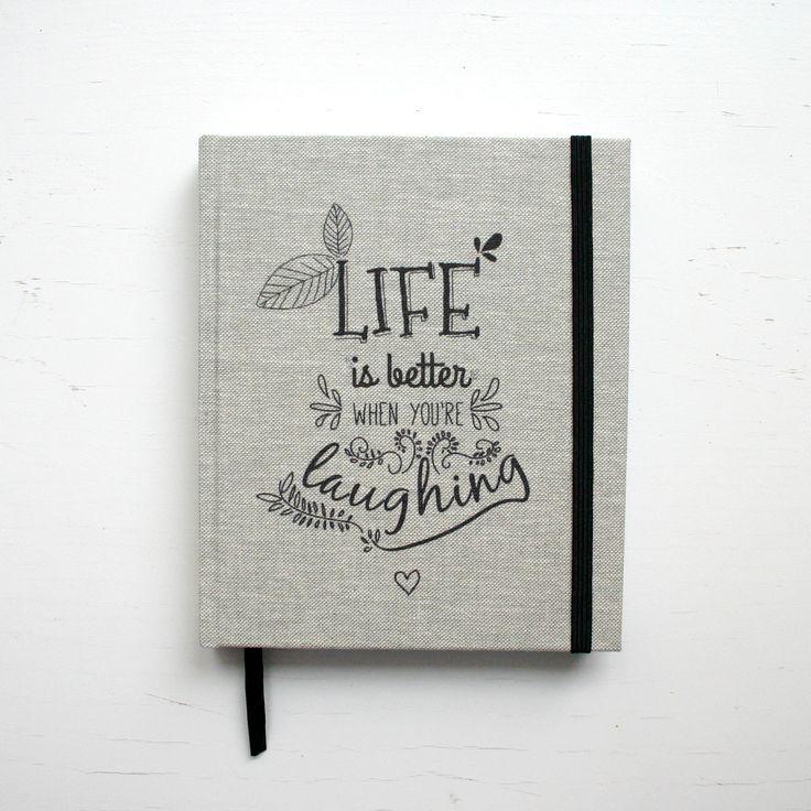 Life is better when you are laughig :) #calendar #kalendarz #handmade #notebooksdesign