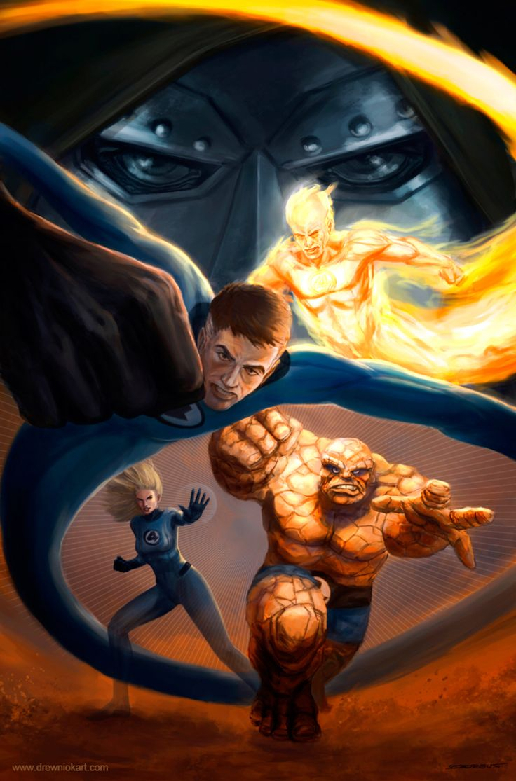 Fantastic Four by SebastianDrewniok on @DeviantArt