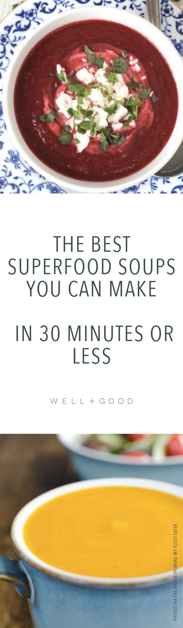 Quick and easy 30 minute healthy superfood recipes.