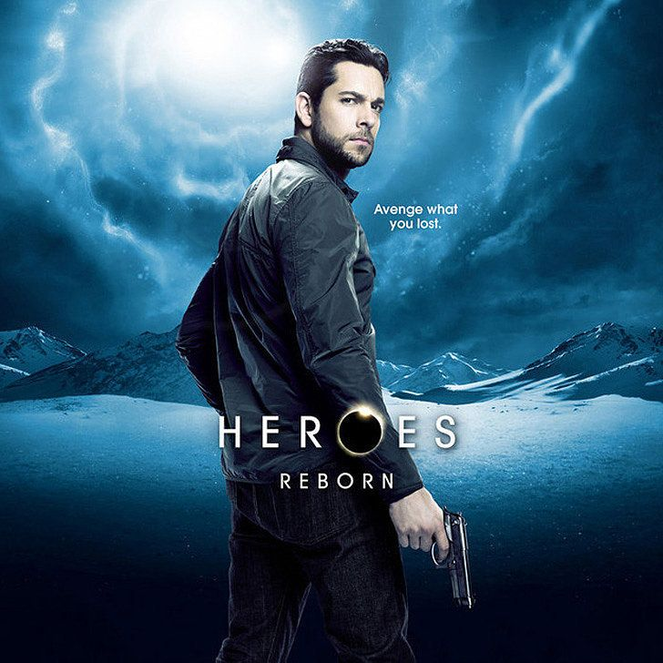 Prepare to Be Dazzled by the Animated Posters For Heroes Reborn