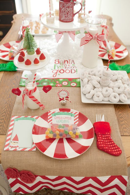 North Pole Breakfast with Elf on the Shelf » Hello Love Designs