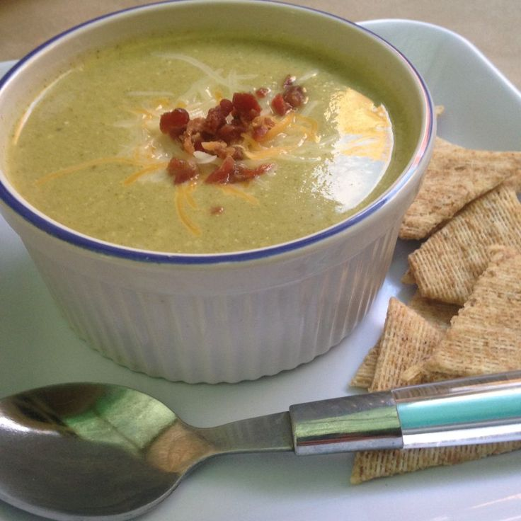 Broccoli cheese soup | Recipe | Blenders, Cups and Cream