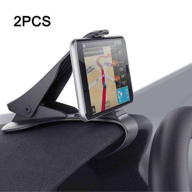 Supporto del supporto del cruscotto 2 universale scivolare pezzi per smartphone GPS iPhone iPad Samsung