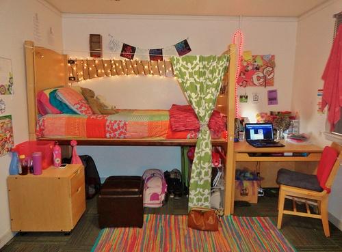 Dorm Room: nice curtain