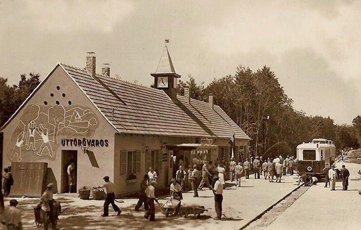 A Csillebérci Úttörővárost 1948-ban hozták létre.