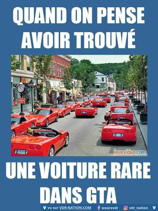 Avoir trouve une voitire rare une voiture rare dans gta  When we think we have found a rare car in gta