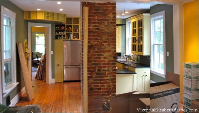 Remodeling Our Old House Kitchen Addition. Itu0027s A Bad Design With A |  Kitchens, Exposed Brick And House
