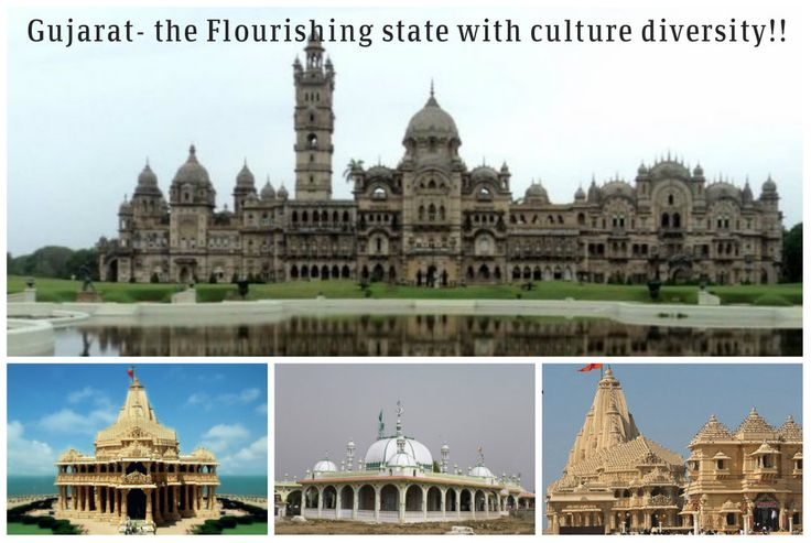 """Are You Planning To Trip To Gujarat?? """"Don't Forget to Visit these places"""" Gujarat- the Flourishing state with culture diversity!!  Enjoy the beauty of this place with more attracted places including Laxmi Vilas Palace – Baroda, Kevadia Colony (Sardar Sarovar Dam), Somnath Temple – Prabhas Patan (Near Veraval), Dwarakadheesh Temple of Lord Krishna, Haji Pir Dargah – Kutch and many more. Get amazing tourism packages at Gujarat Four Wheel Drive online. Visit bit.ly/1M2wfnr."""