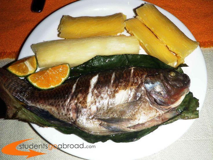 Fresh Fish on the plate! Yummy! #Ecuador