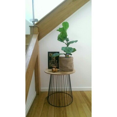 black wire side table kmart 2