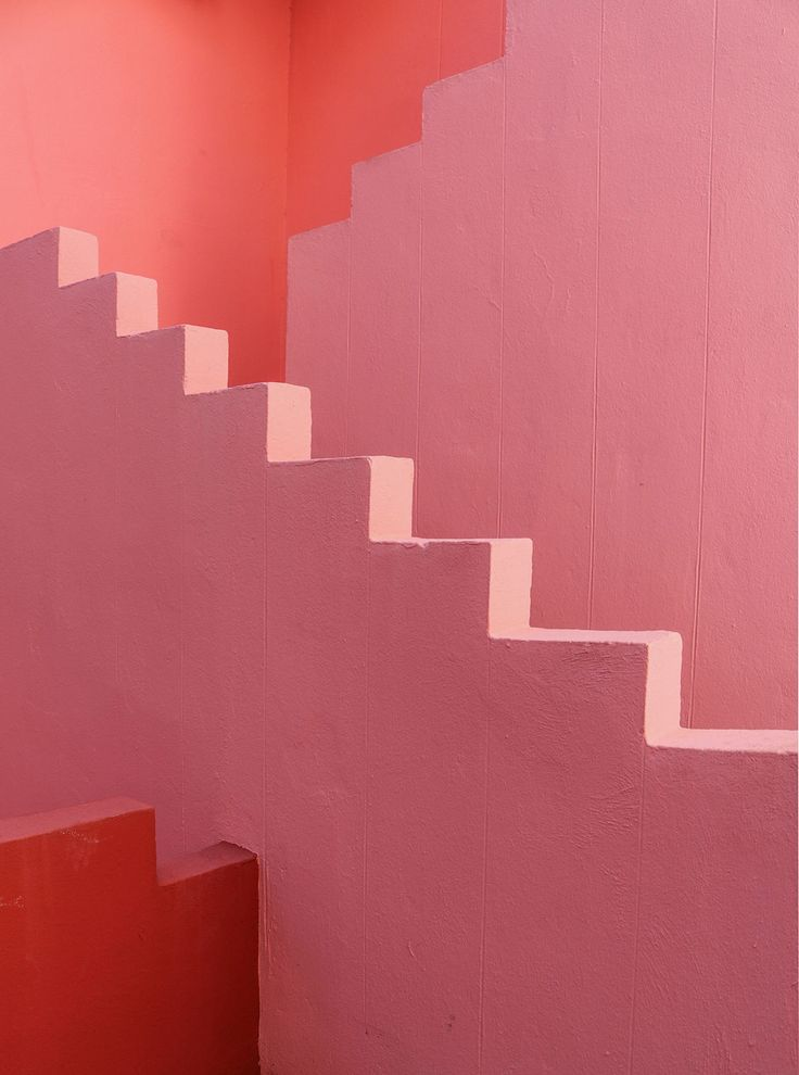 La Muralla Roja, Calpe, Spain. Built by Ricardo Bofill, 1973. photograph by by Tekla Evelina Severin