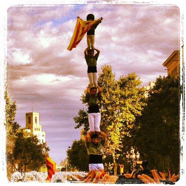 11 september: Diada de Catalunya (National Day of Catalonia)