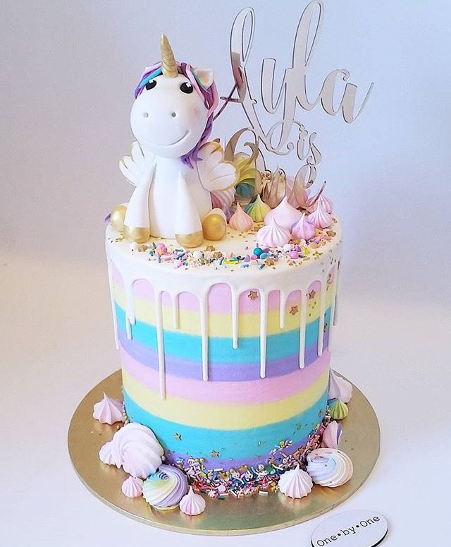 Pastel de unicornio  SUPER KAWAII
