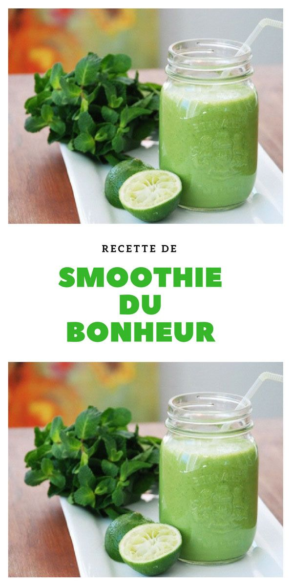 #smoothie #bonheur