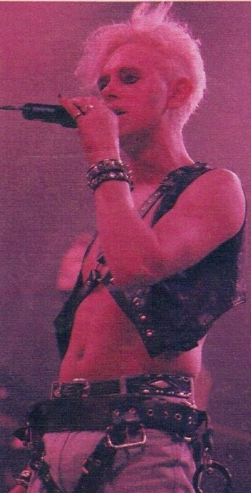 What is Martin Gore wearing?!