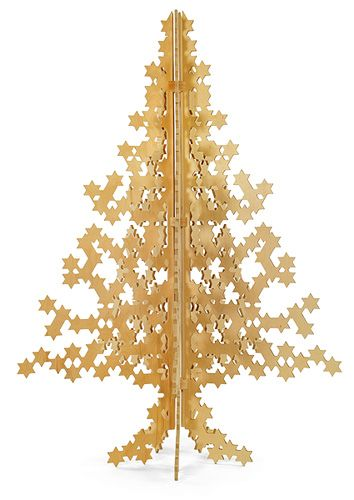 a hanukkahmas tree!: Gifts Ideas, Xmas, Superstar Trees, Superstar Holidays, Holidays Decor, Modern Christmas, Holidays Trees, Christmas Trees, Modernica Superstar