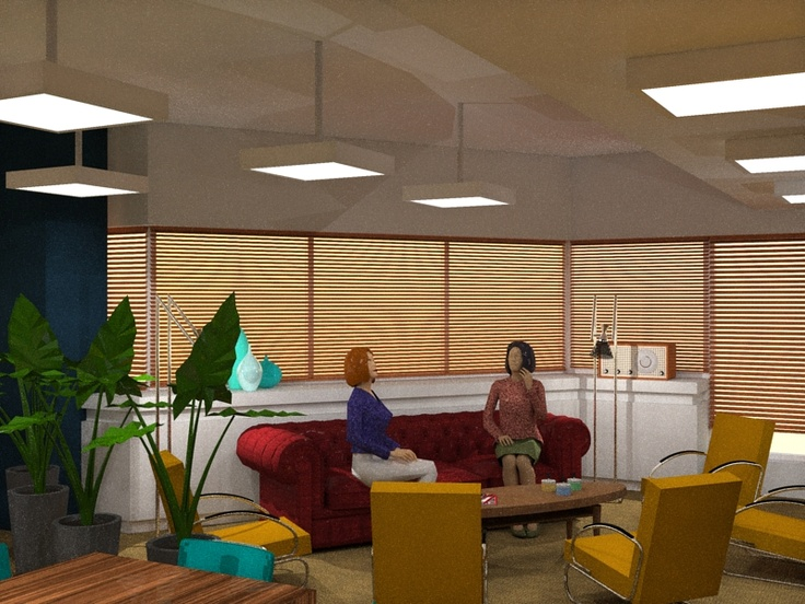 """Lounge in meeting space """"The Loft"""" @S2M030"""