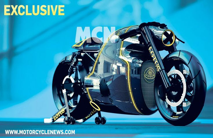 The images of Lotus C-01 Concept Motorcycle you see comes from Motorcycle News, ...