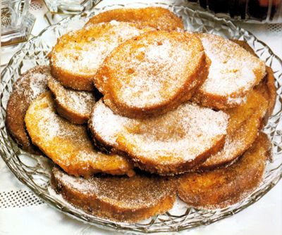 Rabanadas ou Fatias-de-paridas - Gastronomia de Portugal