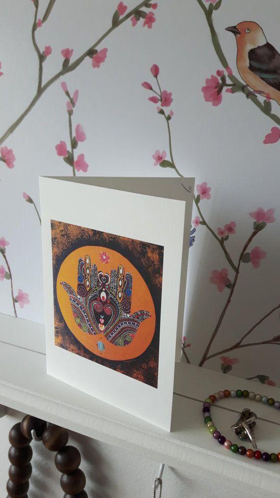 Indian Artwork Anniversary Birthday Jubileum Gold Green Gift