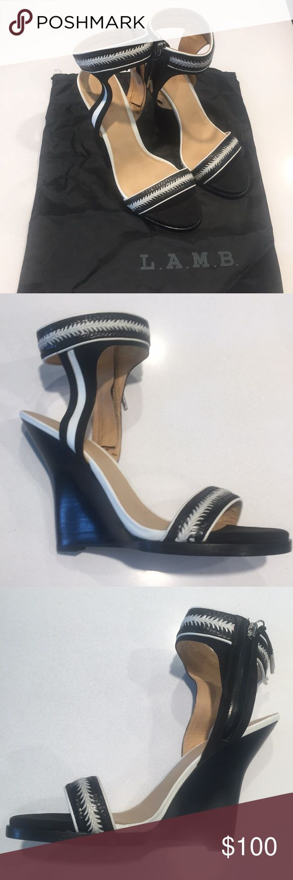 L.A.M.B shoes NWBox Black and white LAMB shoes. Never worn! Size 10 L.A.M.B. Shoes
