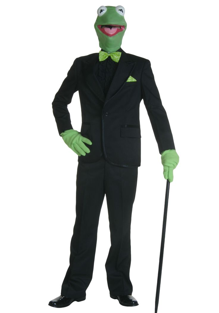 Adult Kermit the Frog Costume