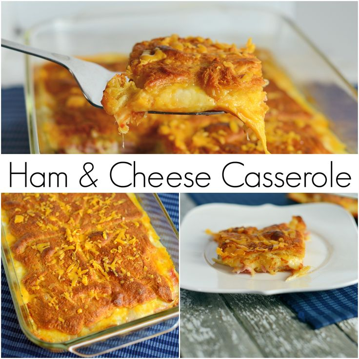 Ham Egg Breakfast Casserole No Bread