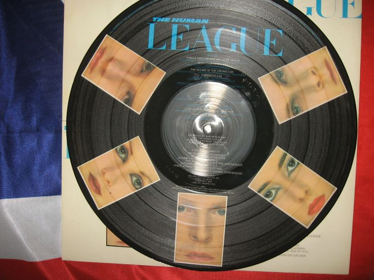 Vinyl Forever: The Human League ‎– Dare! LP PICTURE 1981