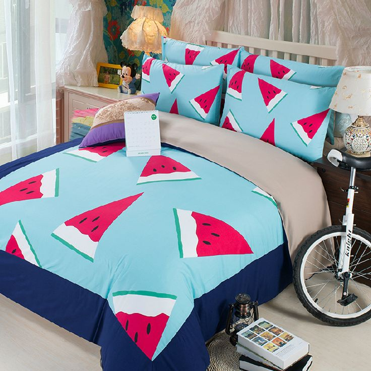 Summer 3D Bedding Set 3 pcs sets