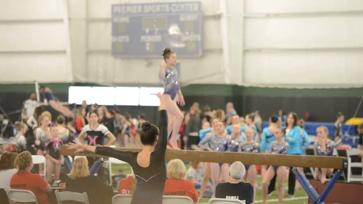 2017 Level 6 Region 5 State Beam Champion