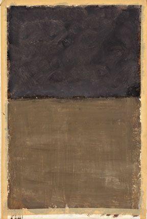 mark rothko - oil on paper (1969)