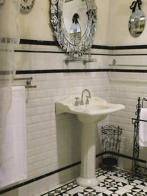 www.hammer-and-heels.com Bathroom by Tesselated Tiles