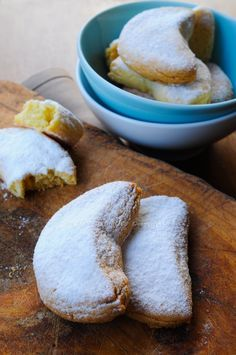 Kourabiedes biscotti greci alle mandorle vickyart arte in cucina