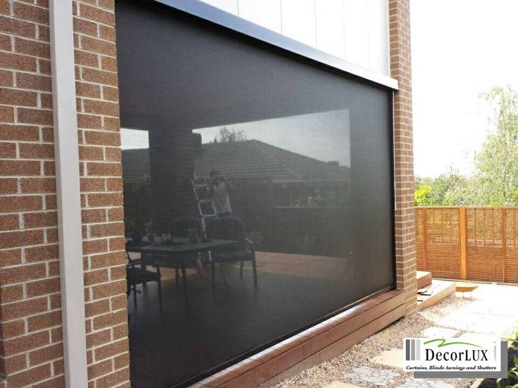 Zipscreen has daytime privacy, UV resistant, insect resistant...etc. Zipscreen Melborune.
