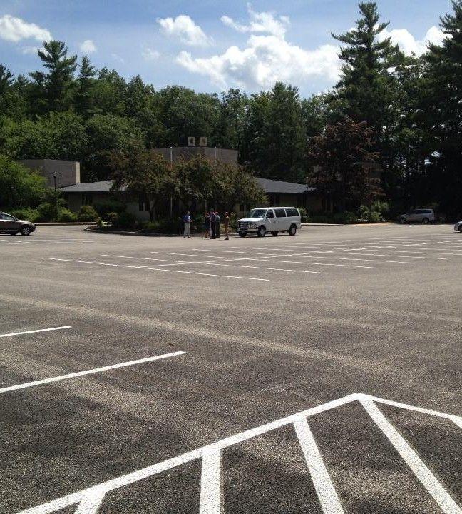 University of New Hampshire (Estados Unidos) 15.24 m2 de Adoquín Ecologico