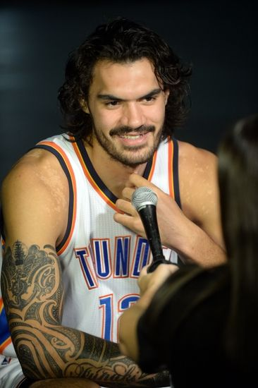 Oklahoma City Thunder center, Steven Adams