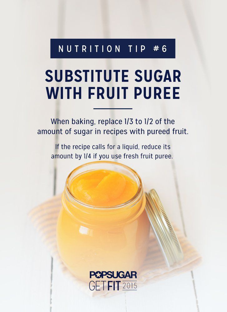 Substitute Sugar in Recipes With Fruit Puree | POPSUGAR Fitness