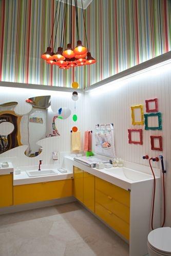 25+ melhores ideias sobre Banheiros Para Crianças no Pinterest  Toalhas de b -> Decoracao Geek Banheiro