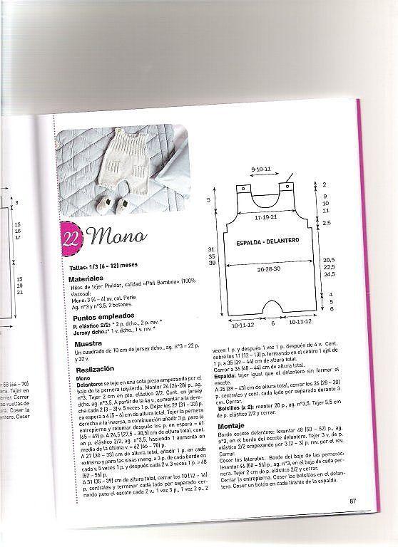 SOLO ROPITA DE BEBE EN PUNTO, GANCHILLO Y TELA (pág. 23) | Aprender manualidades es facilisimo.com
