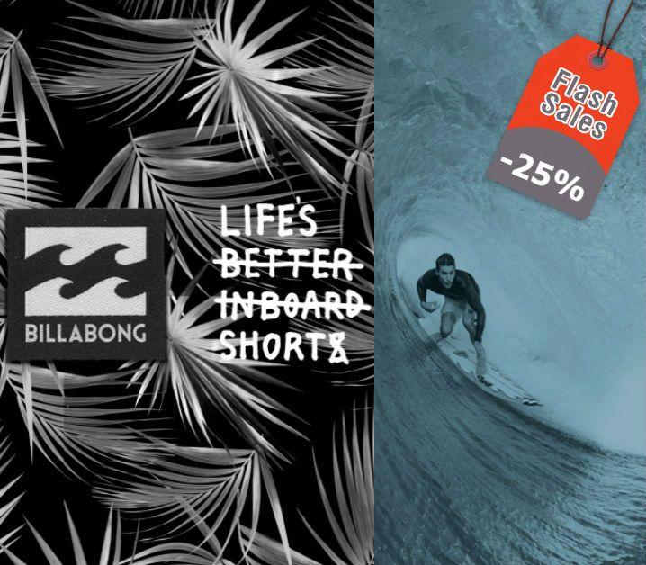 Breaking the waves! 🌊 Βρες τη Νέα Συλλογή #Billabong ως -25% για λίγες μέρες μόνο!