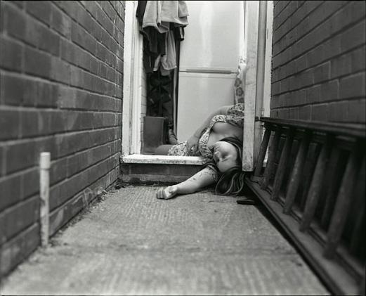 caught on camera: fake crime scene by Rebecca Giffen