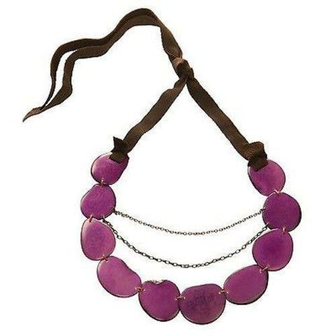 Faire Collection - Floresta Necklace - Berry - Faire Collection