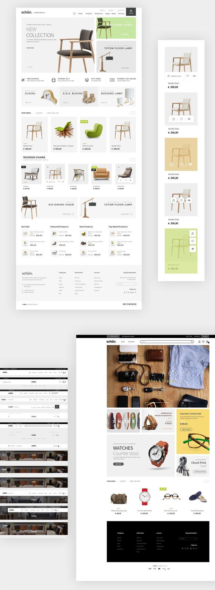 schön. ecommerce psd templateBuy Now!http://themeforest.net/item/schn-ecommerce-psd-template/15449163?ref=imetin