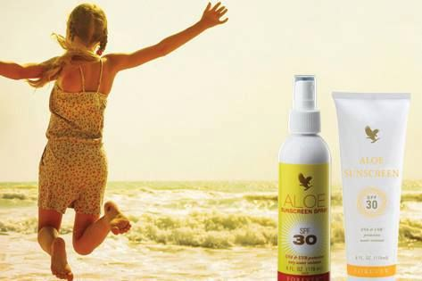 Planning a break in the sun? Don't forget to pack our fabulous sunscreen. All the benefits you would expect - 30 SPF protection and aloe vera to protect your skin against the sun and wind, plus the added benefit of water resistance to allow you to splash and swim without worry. #aloeinspire