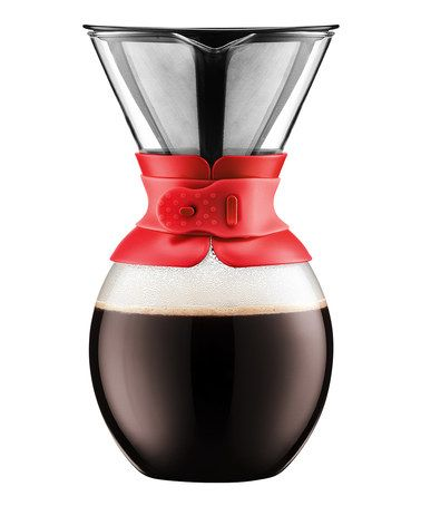 Look at this #zulilyfind! 51-Oz. Red Coffee Maker #zulilyfinds