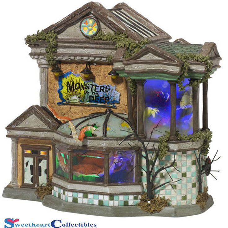 Department 56 Halloween Village Monsters of the Deep 799936 Limited